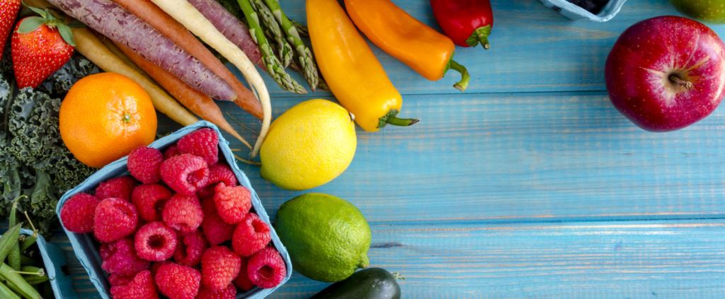 Gute Vorsätze mit Obst und Gemüse